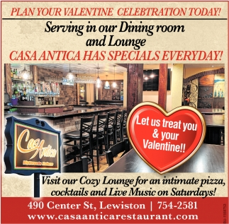 Plan Your Valentine Celebration Today!