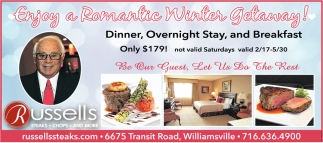 Enjoy a Romantic Winter Getaway