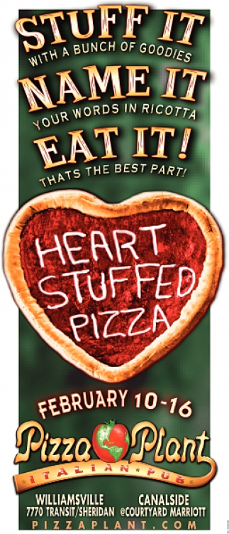 Heart Stuffed Pizza