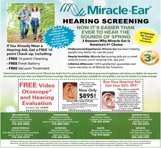 FREE Video Otoscope* and Hearing Evaluation