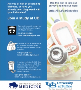 Join a Study at UB!