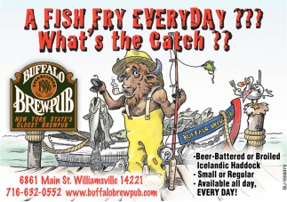 A Fish Fry Everyday? What's the catch?