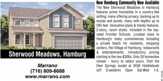 New Hamburg Community Now Available
