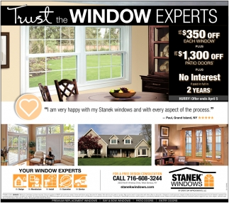 Trust The Window Experts