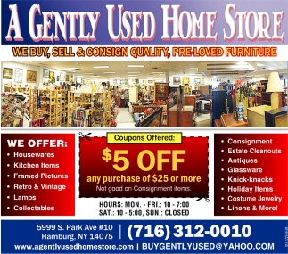 We Buy, Sell & Consign Quality, Pre-Loved Furniture