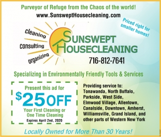 Environmentally Friendly Tools & Services