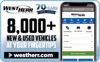 8000+ New & Used Vehicles