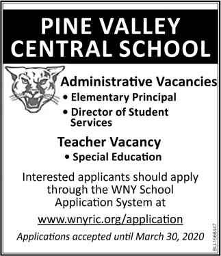 Administrative Vacancies