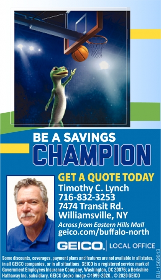 Be a Savings Champion