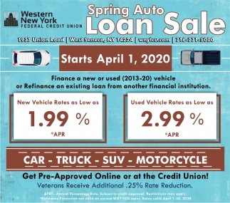 Sprng Auto Loan Sale