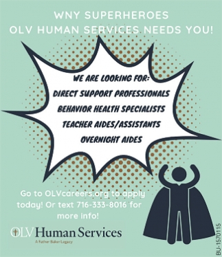 Human Services Needs You