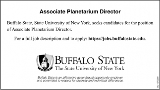 Associate Planetarium Direcor