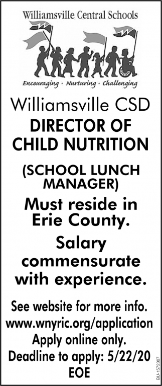 Director of Child Nutrition