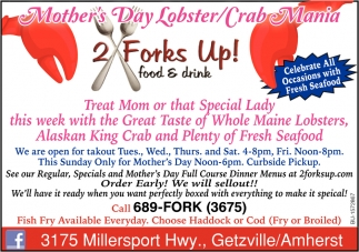 Mother's Day Lobster