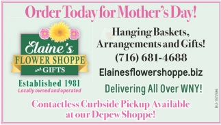 Order Today for Mother's Day