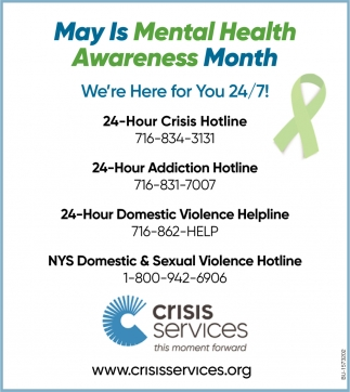 May Is Menal Health Awareness Month