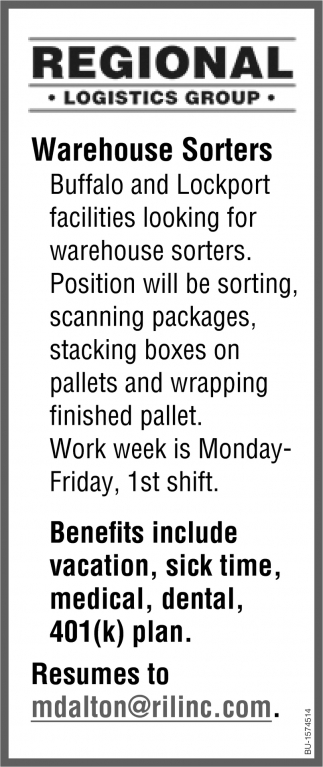 Warehouse Sorters