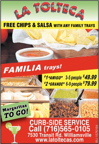 Free Chips & Salsa