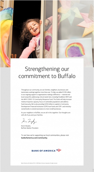 Strengthening Our Commitment to Buffalo