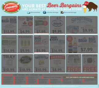 Beer Bargains