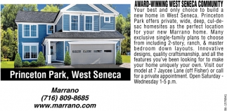 Award-Winning Wst Seneca Community