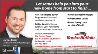 Let James Help You Into Your New Home