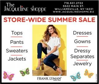 Store-Wide Summer Sale