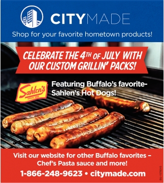 Celebrate 4th of July With Custom Grillin' Packs!