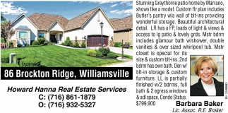 86 Brockton Ridge, Williamsville