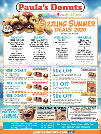 Sizzling Summer Deals 2020