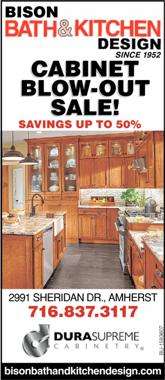 Cabinet Blow-Out Sale!