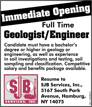 Full Time Geologist/Engineer