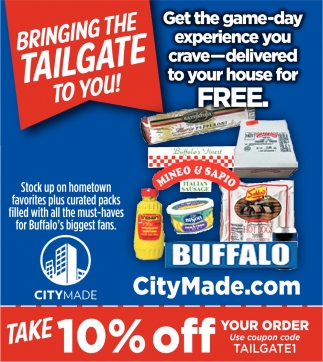 Bringing The Tailgate To You!