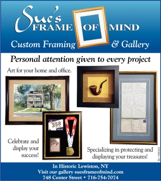 Custom Framing & Gallery