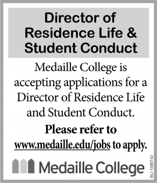Director of Residence Life & Student Conduct
