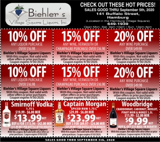 Check Out these Hot Prices!
