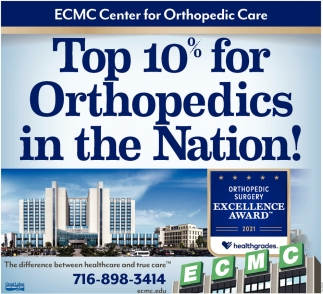 Top 10% For Orthopedics In The Nation!