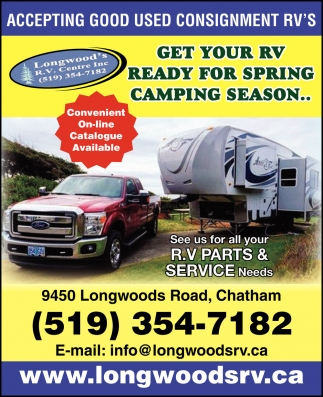 Accepting Good Used Consignment RV's