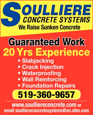 We Raise Sunken Concrete