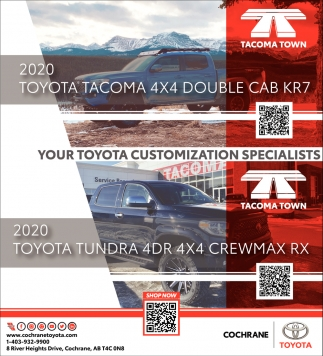 Your Toyota Customization Specialists