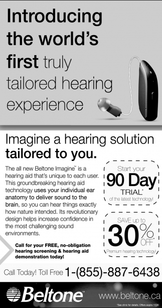 Introducing The World's First Truly Tailored Hearing Experience