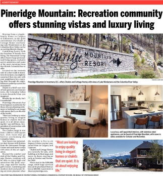 Pineridge Mountain: Recreation Community Offers Stunning Vistas And Luxury Living
