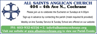 Let's Connect As A Parish & As A Community As We Celebrate The Eucharist
