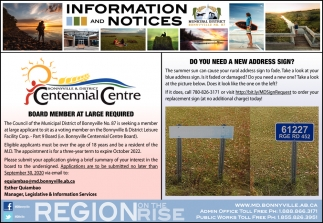 Information and Notices