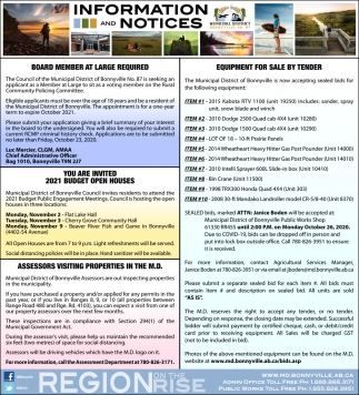 Information and Notice