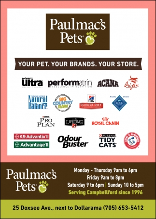 Your Pet. Your Brands. Your Store