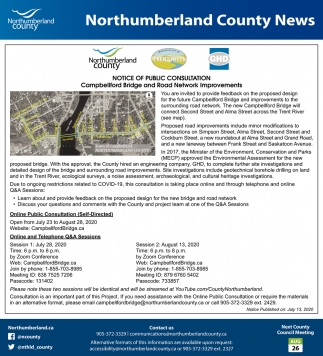 Notice of Public Consultation