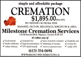 Simple and Affordable Package Cremation