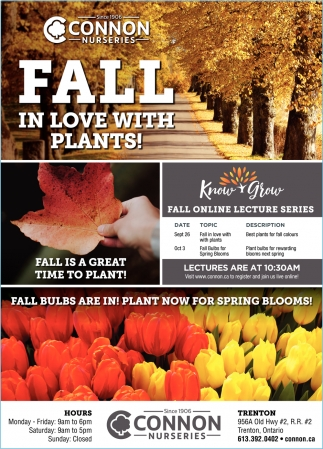 Fall In Love with Plants!