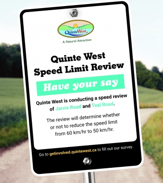 Quinte West Speed Limit Review